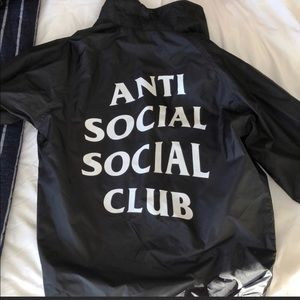 Anti social social club jacket authentic 100%